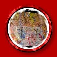 Opera dell'artista Silvia Pozzati